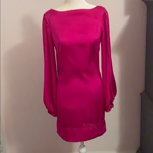 Cache pink part my dress